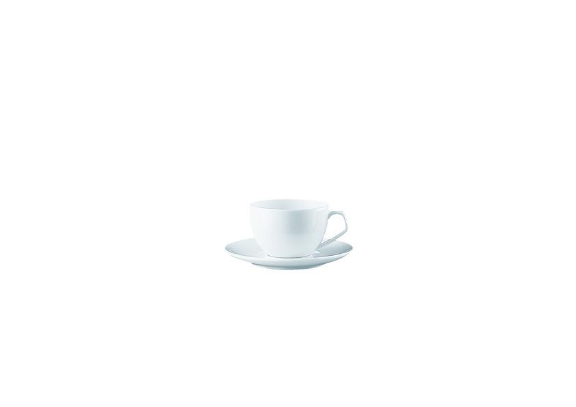 Espressokop en schotel