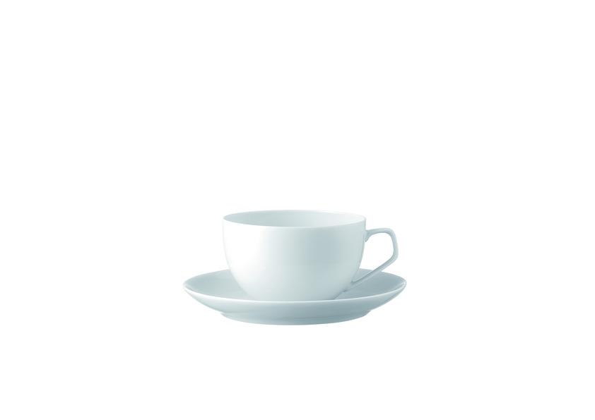 Koffie/cappucino kop en schotel