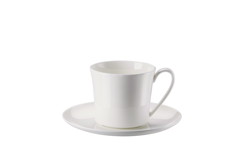 Café au lait kop en -schotel