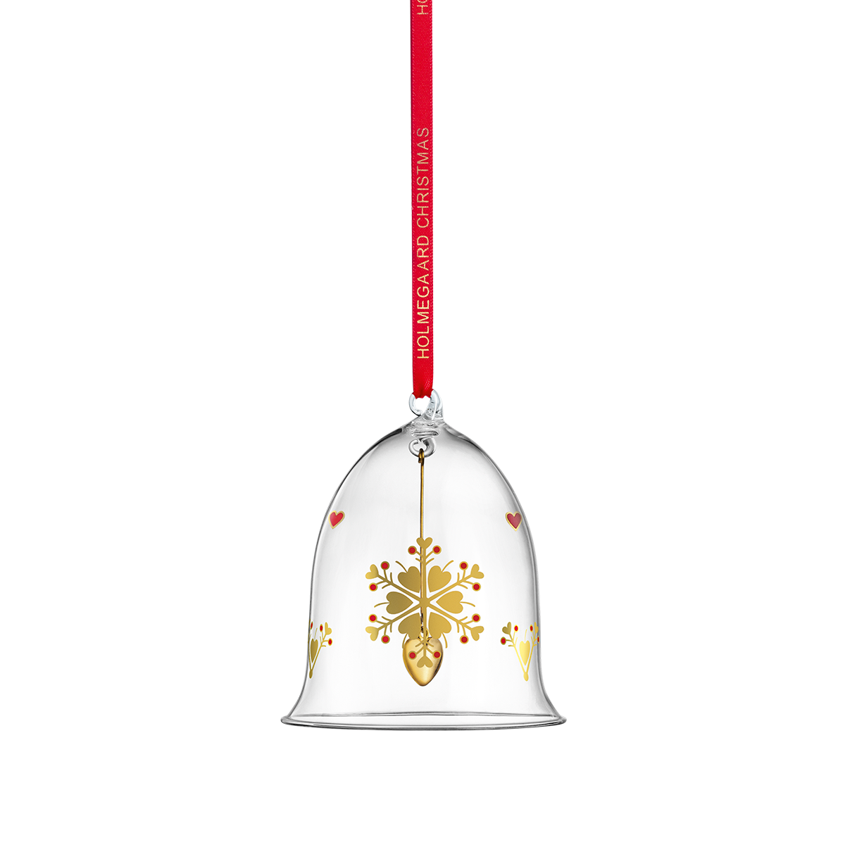 Christmas bell ornament large