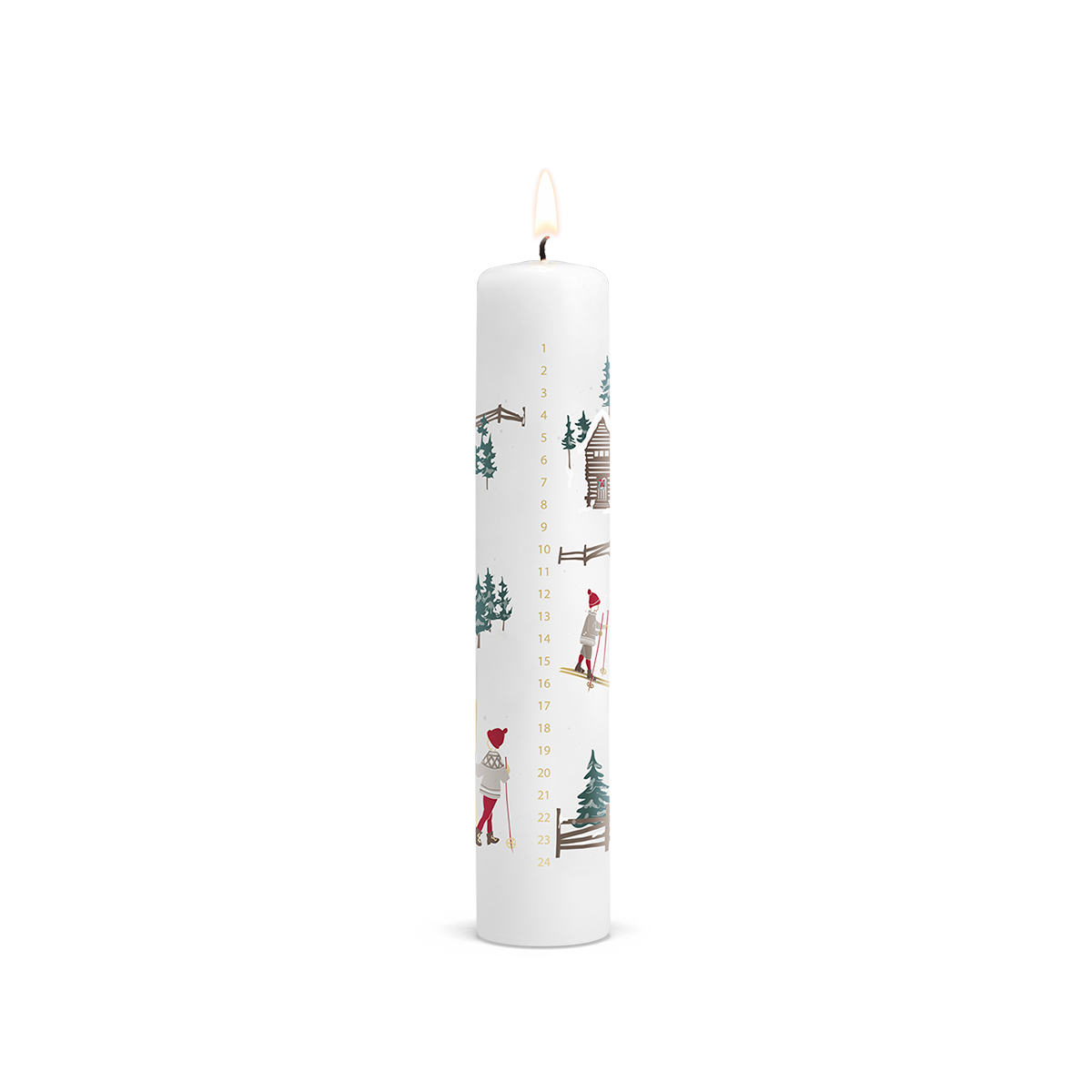 Advent candle 2019